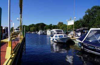 Yachthafen Potsdam, Foto: Maria Ruge & Leendert Messchendorp GbR